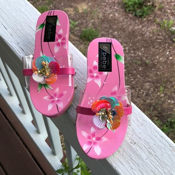 Bebe little girl sandals